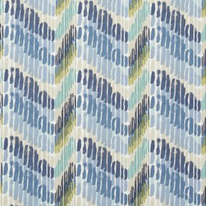 Clarke and Clarke Cariba Windjammer Mineral Curtain Fabric