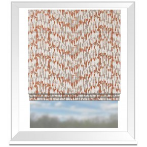 Clarke and Clarke Chateau Jardin Sunset Roman Blind