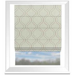 Clarke and Clarke Halcyon Layton Heather Roman Blind