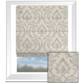 Clarke and Clarke Richmond Leyburn Duckegg Roman Blind