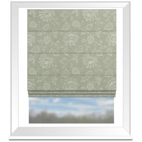Clarke and Clarke Halcyon Liliana Dove Roman Blind