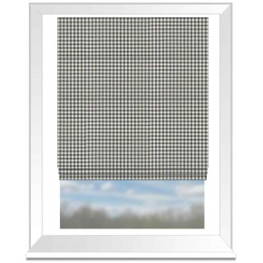 Clarke and Clarke Glenmore Loch Flannel Roman Blind
