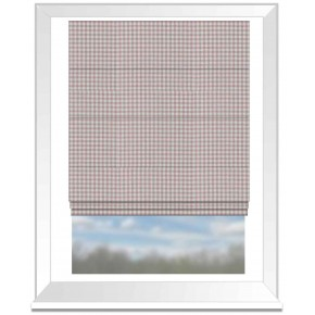 Clarke and Clarke Glenmore Loch Heather Roman Blind