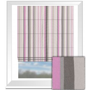 Clarke and Clarke La Vie Lounger Candy Roman Blind