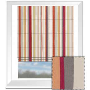 Clarke and Clarke La Vie Lounger Spice Roman Blind