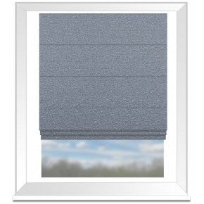 Clarke and Clarke Imperiale Lucania Chicory Roman Blind