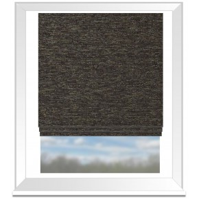 Clarke and Clarke Imperiale Lucania Ebony Roman Blind