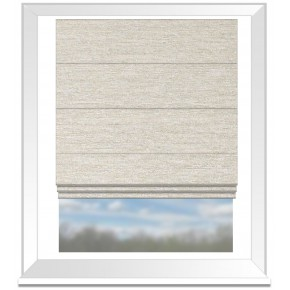 Clarke and Clarke Imperiale Lucania Ivory Roman Blind