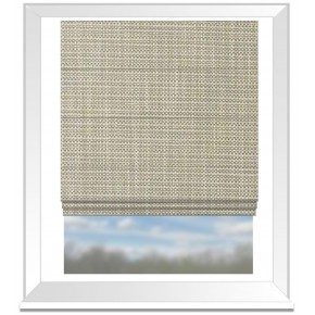 Clarke and Clarke Chateau Madeline Linen Roman Blind