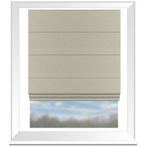 Clarke and Clarke Countryside Malajia Linen Roman Blind