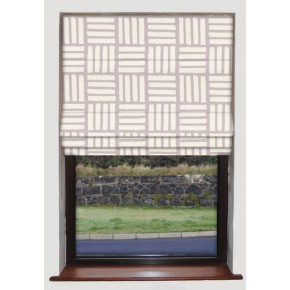 Clarke and Clarke Astrid Malva Heather Roman Blind