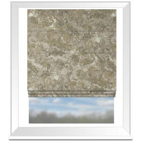 Clarke and Clarke Imperiale Marmo Linen Roman Blind