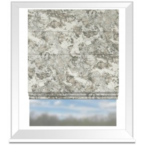 Clarke and Clarke Imperiale Marmo Pebble Roman Blind