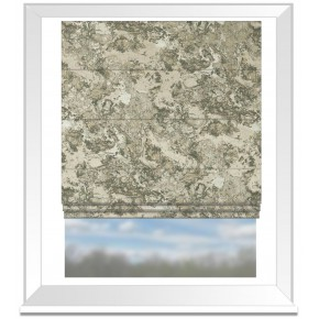 Clarke and Clarke Imperiale Marmo Taupe Roman Blind
