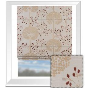 Prestigious Textiles Eden Moonseed Cranberry Roman Blind