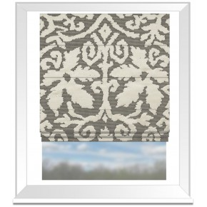 Clarke and Clarke Imperiale Otranto Taupe Roman Blind