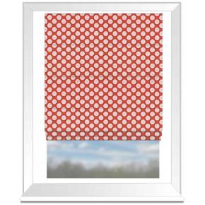 Prestigious Textiles Annika Pia Papaya Roman Blind