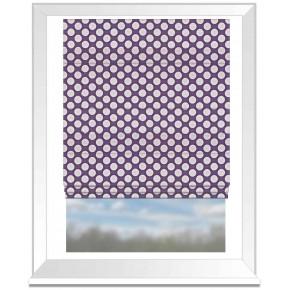 Prestigious Textiles Annika Pia Violet Roman Blind
