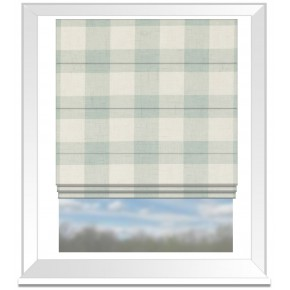 Clarke and Clarke Genevieve Polly Mineral Roman Blind