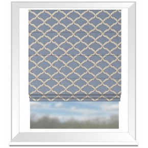 Clarke and Clarke Imperiale Reggio Chicory Roman Blind