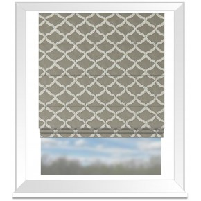 Clarke and Clarke Imperiale Reggio Pebble Roman Blind