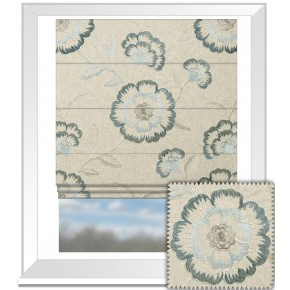 Clarke and Clarke Richmond Richmond Denim Roman Blind