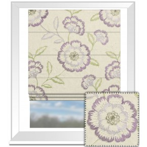 Clarke and Clarke Richmond Richmond Heather Roman Blind