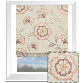 Clarke and Clarke Richmond Richmond Spice Roman Blind