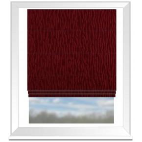 Prestigious Textiles Atrium Ripple Cardinal Roman Blind