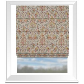 Country Garden Rosalie Summer Roman Blind