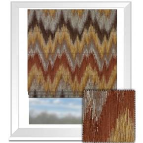 Prestigious Textiles Iona Santorini Umber Roman Blind