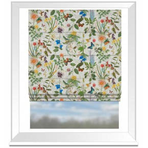 Country Garden Secret Garden Cream  Roman Blind