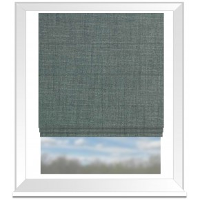 Prestigious Textiles Dalesway Settle Aquamarine Roman Blind