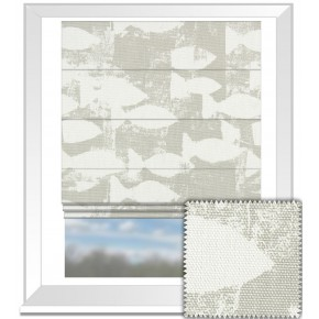 Prestigious Textiles Pickle Shoal Pebble Roman Blind
