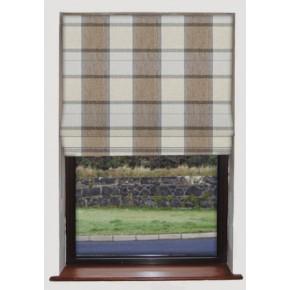 Prestigious Textiles Highlands Solway Bracken Roman Blind