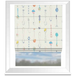 A Village Life  Spoonful Of Sugar  Cream  Roman Blind