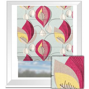 Clarke and Clarke Festival Starlight Summer Roman Blind