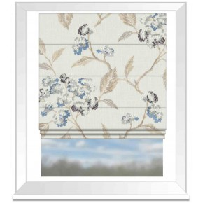 Avebury Summerby Denim Roman Blind