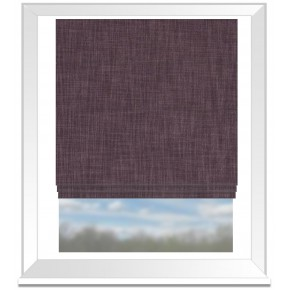 Clarke and Clarke Vienna Berry Roman Blind