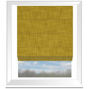 Clarke and Clarke Vienna Honey Roman Blind