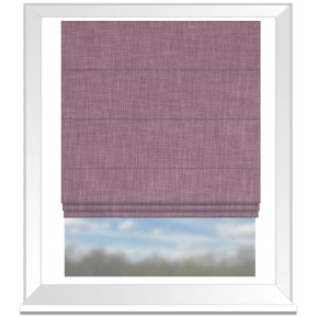 Clarke and Clarke Vienna Orchid Roman Blind
