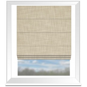 Clarke and Clarke Vienna Pebble Roman Blind
