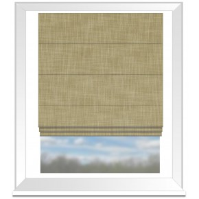Clarke and Clarke Vienna Straw Roman Blind