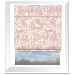 Clarke and Clarke Blighty Westonbirt Rose Roman Blind