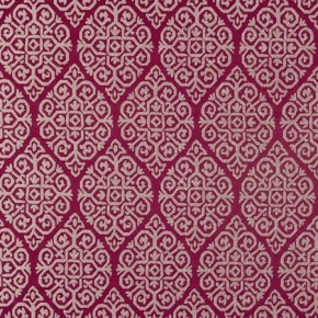 Clarke and Clarke Bukhara Zari Berry Made to Measure Curtains