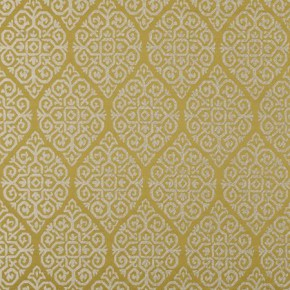 Clarke and Clarke Bukhara Zari Citrus Made to Measure Curtains