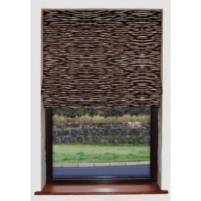 Clarke_and_Clarke_academyvelvets_zebra_chocolate_roman_blind