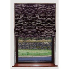 Clarke_and_Clarke_academyvelvets_zebra_purple_roman_blind