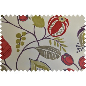 Zest Zest Berry Curtain Fabric
