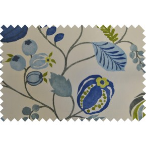 Zest Zest Bluebell Curtain Fabric
